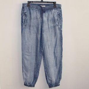 Cloth & Stone Chambray Tencel Jogger Pants